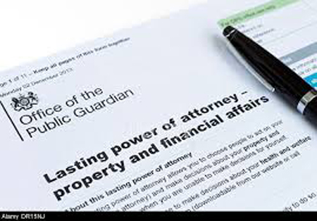 Lasting Power Of Attorney Property Financial Affairs